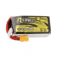 Tattu R-Line Version 3.0 1800mAh 4s 120C Lipo Battery