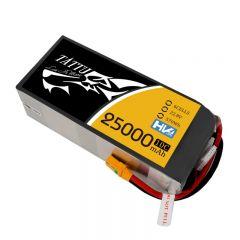 Tattu 22.8V 10C 6S 25000mAh LiPo Battery with XT90 Anti spark Plug for UAV