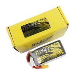 Tattu R-Line Version 3.0 1550mAh 22.2V 120C 6S1P Lipo Battery Pack With XT60 Plug